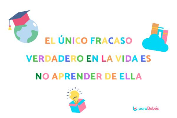Frases motivadoras para niños/as - Frases para niños de primaria