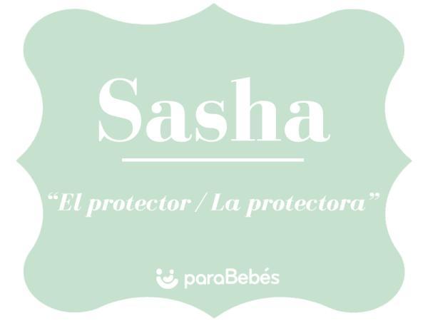 Significado del nombre Sasha