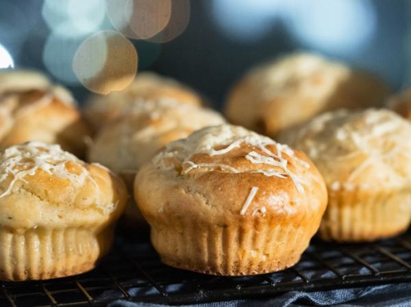 Meriendas saludables para niños - Muffins salados