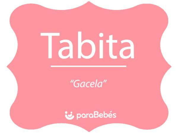 Significado del nombre Tabita