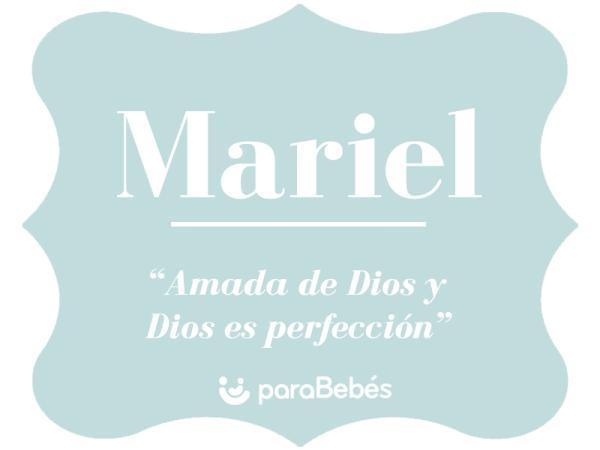 Significado del nombre Mariel
