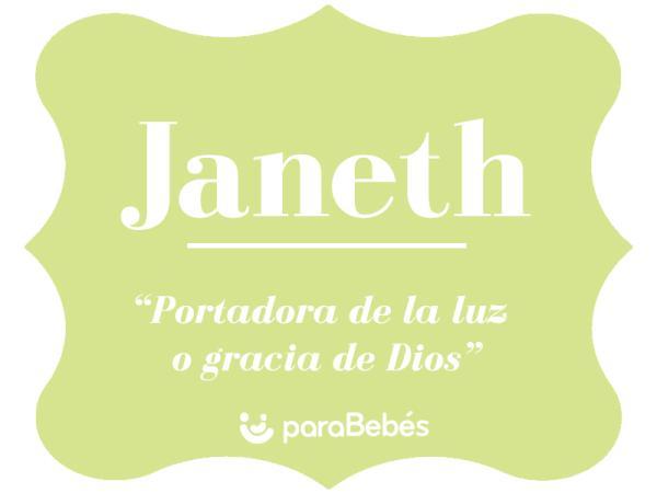 Significado del nombre Janeth