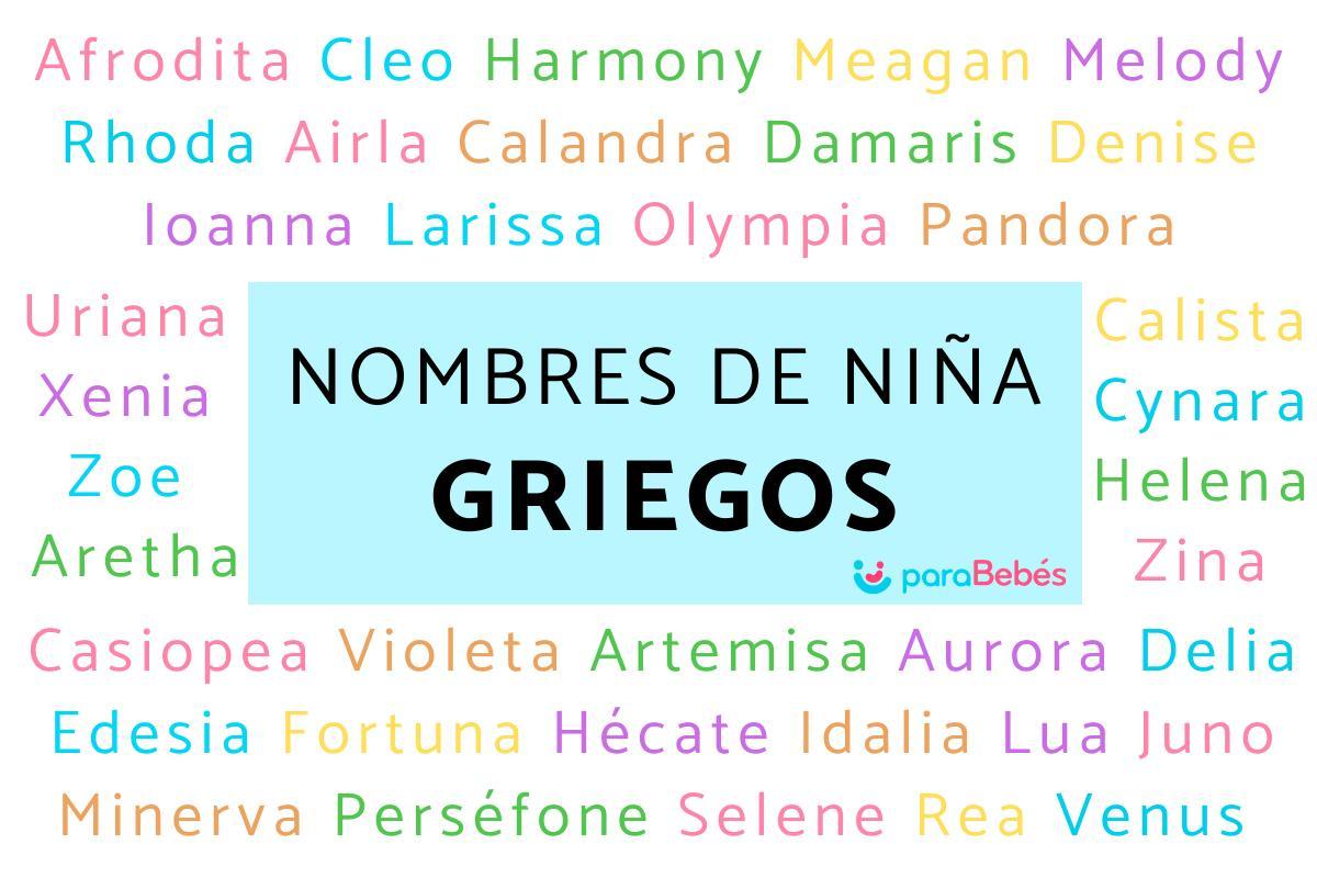 200 Nombres De Niña Griegos Bonitos Y Modernos
