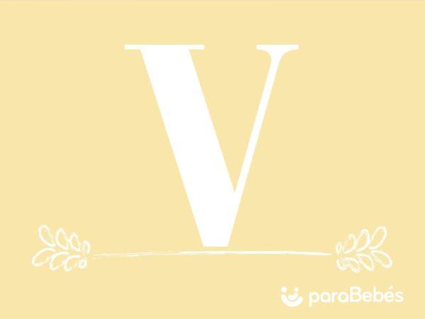 Nombres de niño con la letra V