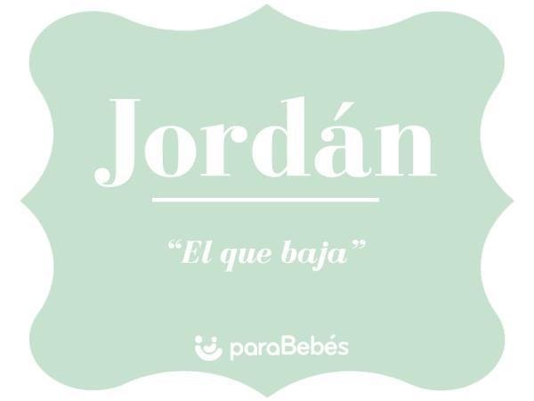 Significado del nombre Jordán