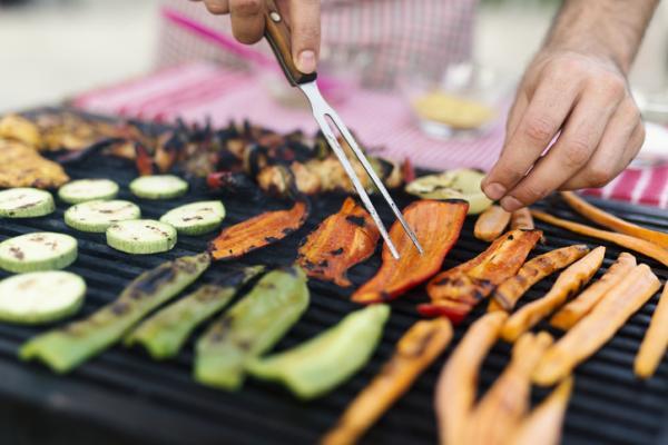 Cenas saludables para niños - Parrillada de verduras