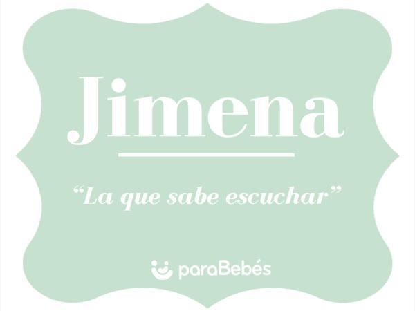 Significado del nombre Jimena
