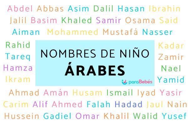 Nombres de niño árabes y su significado
