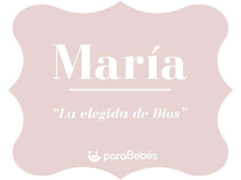Significado Del Nombre María Origen Personalidad Santoral Popularidad