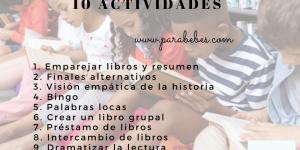 Fomentar la lectura: actividades para niños de primaria