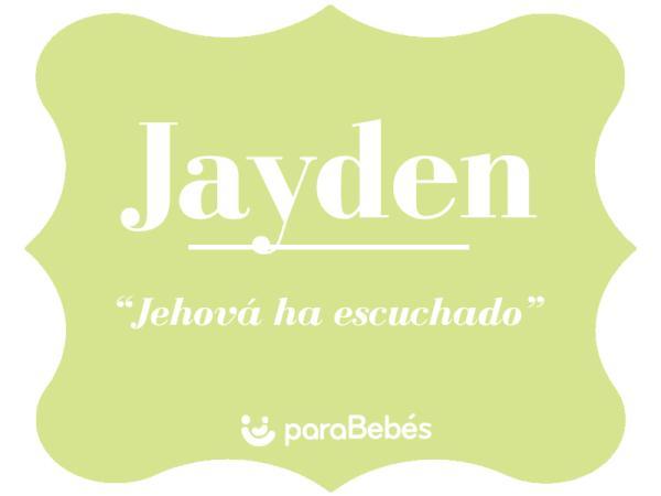 Significado del nombre Jayden