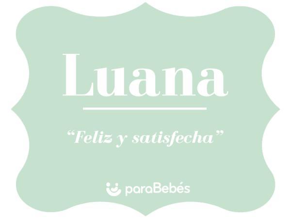 Significado del nombre Luana
